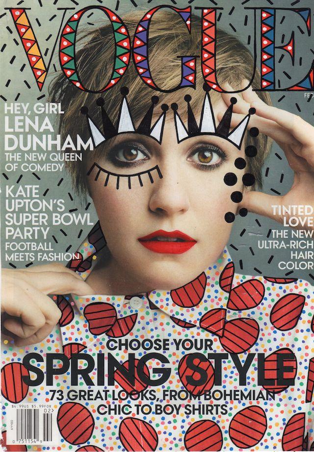 Illustrations On Fashion Magazines Covers