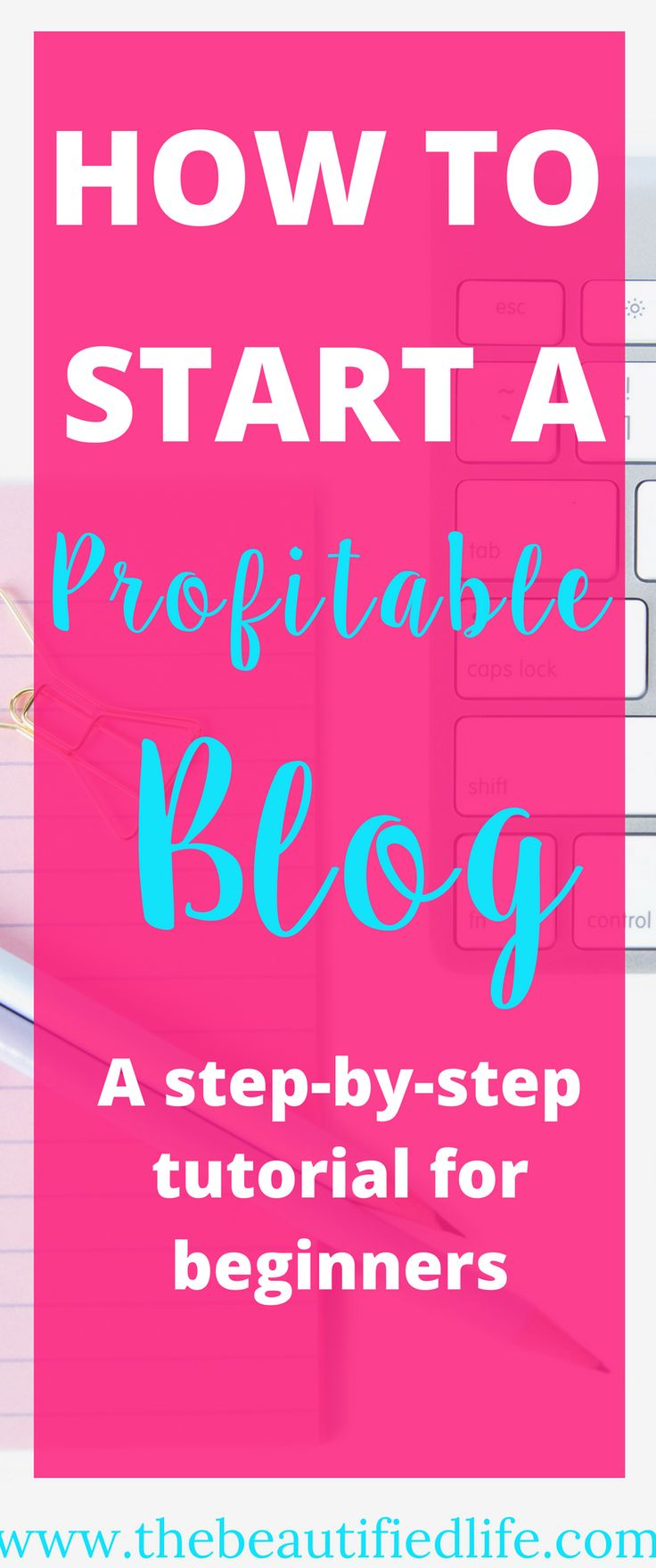 How to start a money making blog. Have you been dreaming of one day starting a profitable blog? I did too, for quite some time. So i wrote this comprehensive step-by-step tutorial to walk you through it every step of the way.