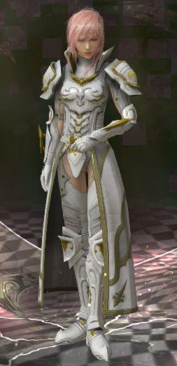 Final Fantasy XIII Lightning Returns (Sacred Knight)