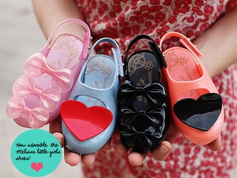 Melissa baby shoes.