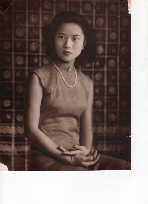 This image was taken of my grandmother in Shanghai at 16 years-old.  Before I left for China she aptly told me that Shanghai changes every two years.  It's true—cranes jut out against the skyline and brand new buildings still shrouded in scaffolding & tarps stand proudly at just about every turn.  So, in search for my grandmother's Shanghai I set out for Duolun Lu, a street officially protected to retain the look of the city in the 1920s and 30s.    Far from the Park Hyatt, I