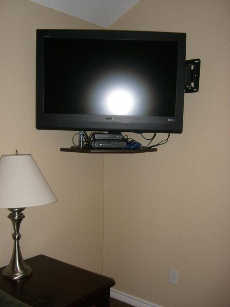best 25 tv wall shelves ideas on pinterest floating tv. Black Bedroom Furniture Sets. Home Design Ideas