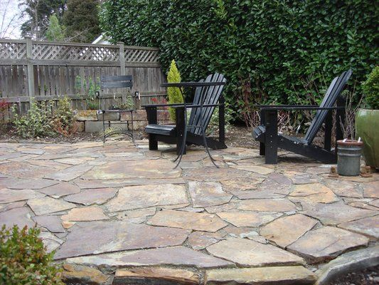 35 best Flagstone Patios images on Pinterest | Flagstone patio ...