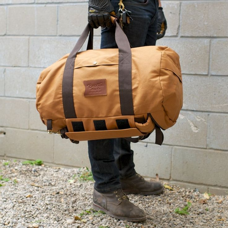 Brixton Bixby Duffle Bag At Town Moto