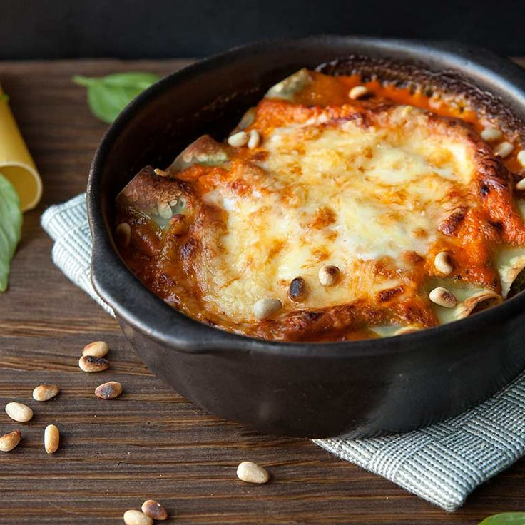 Cannelloni van spinazie en ricotta