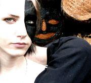 """""""Secondfaced"""" series of Face-Paint photographs by Sebastian Bieniek, 2014 #SebastianBieniek #B1EN1EK #Bieniek #SecondFaced #SecondFace #ScondFaces #FacePaint #BieniekFacePaint #B1EN1EKFace"""
