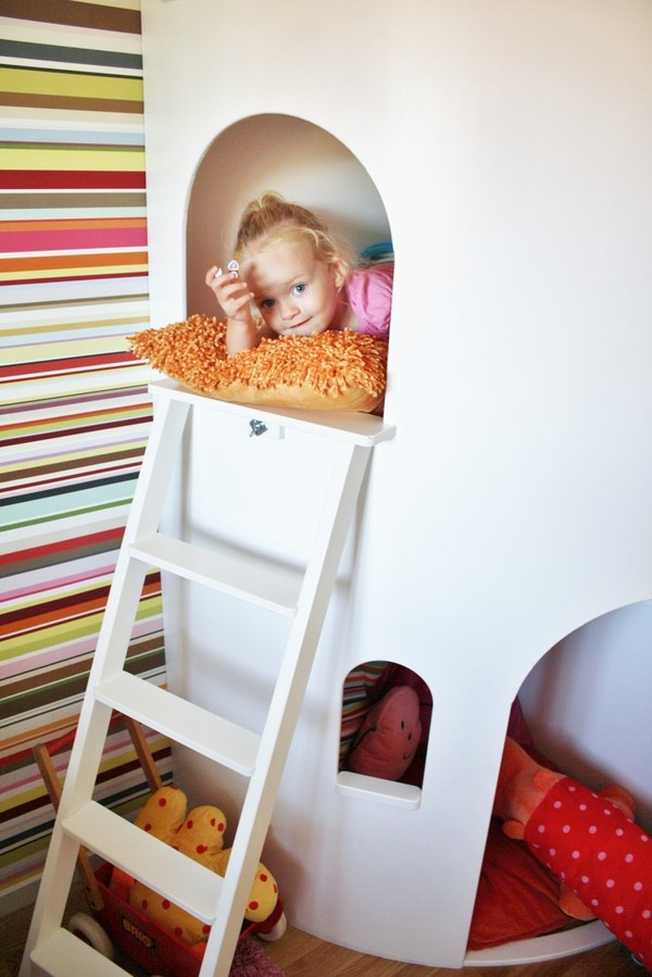 rusta upp - cabane chambre d'enfant