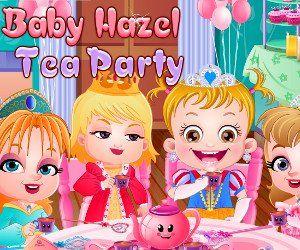 Малышка Хейзел Чайная Вечеринка, http://www.babyhazelworld.com/game/malyshka-hjejzjel-chajnaja-vjechjerinka. Организуй вместе с малышкой и ее подружками чайную вечеринку для настоящих принцесс