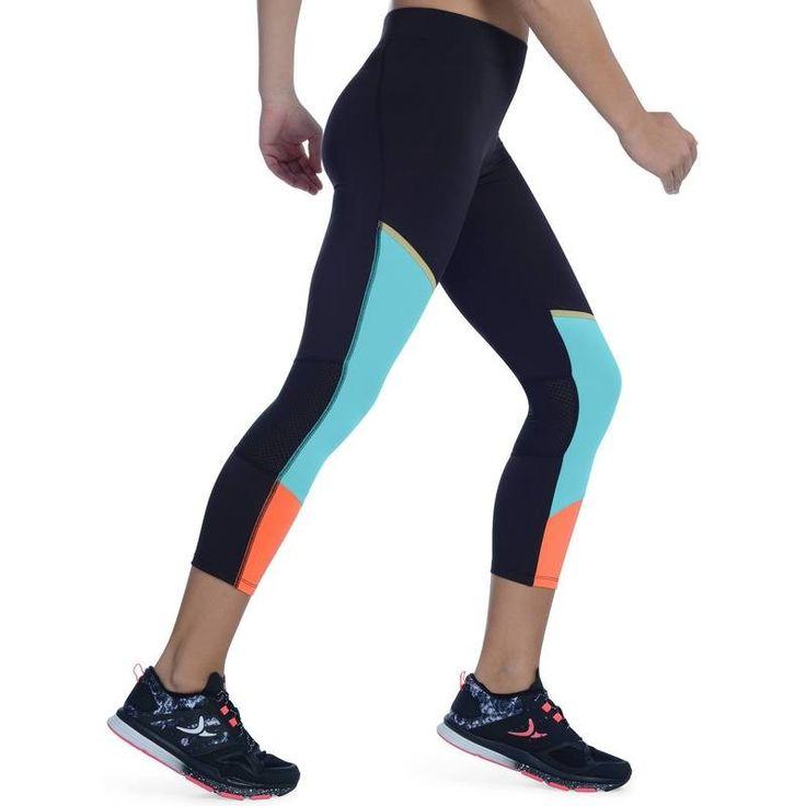 Fitness_6 Fitness, joga, cross training - Legginsy 7/8 ENERGY XTREM DOMYOS - Sporty