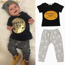 Bear Leader Summer 2016 2pcs Newborn Infant Baby Boys Kid Clothes T-shirt Tops + Pants Outfits Sets 0-24 Children's Clothing Set //Price: $US $6.68 & FREE Shipping //     #beauty