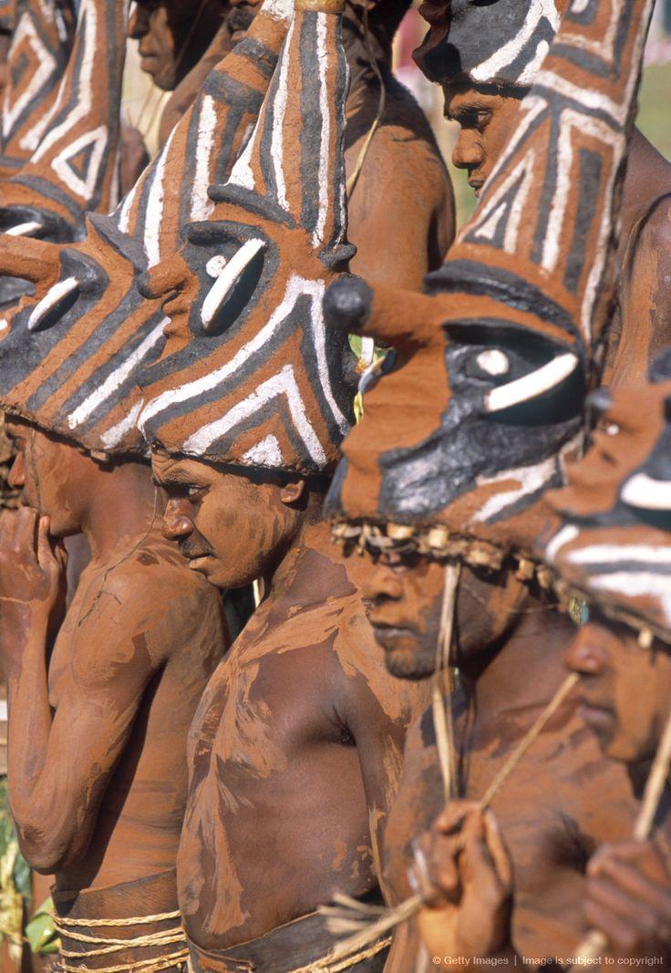 Tribal dancers at a festival in Port Vila, Vanuatu