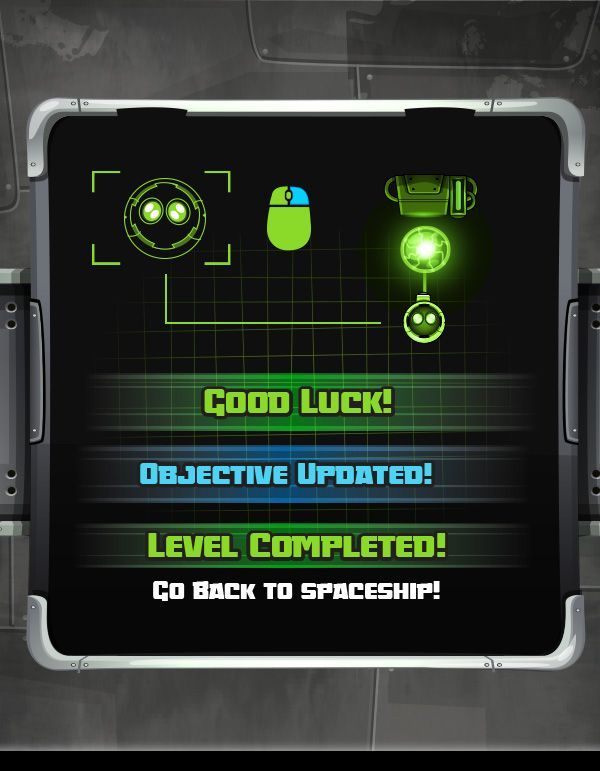 ASTEROID BOT - Game on Behance