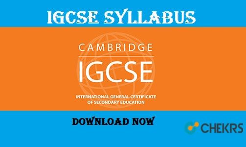 IGCSE Syllabus 2018-2019 !! | Education | Ninth grade, 1st
