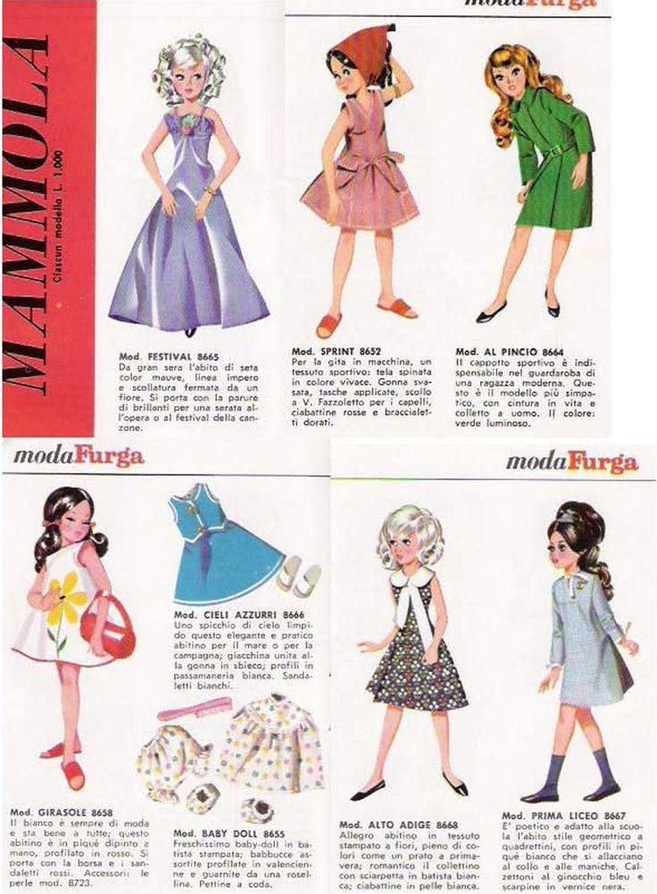 BAMBOLE FURGA TRE ESSE: CATALOGO 1966 pag 5 di 13