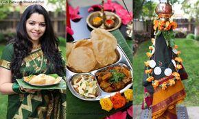 Shrikhand Puri and Gudi Padwa!!! #shrikhand #puri #indian bread #recipes #food #tasty #indian  #yoghurt #sweet #dessert #gudi padva #indian festival