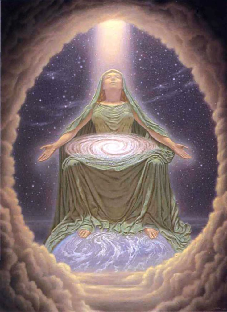 Madre Cósmica por JOHFRA:
