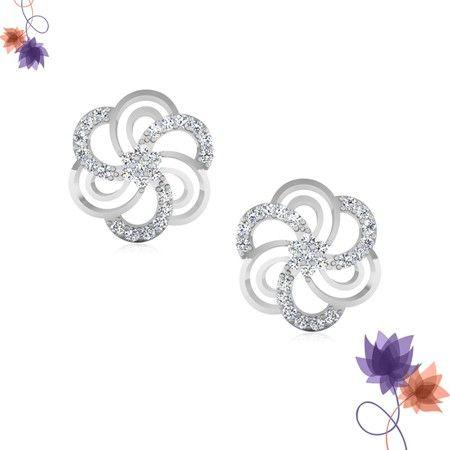 Magnetic Floral #Earrings