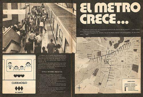 Metro de Santiago 1979