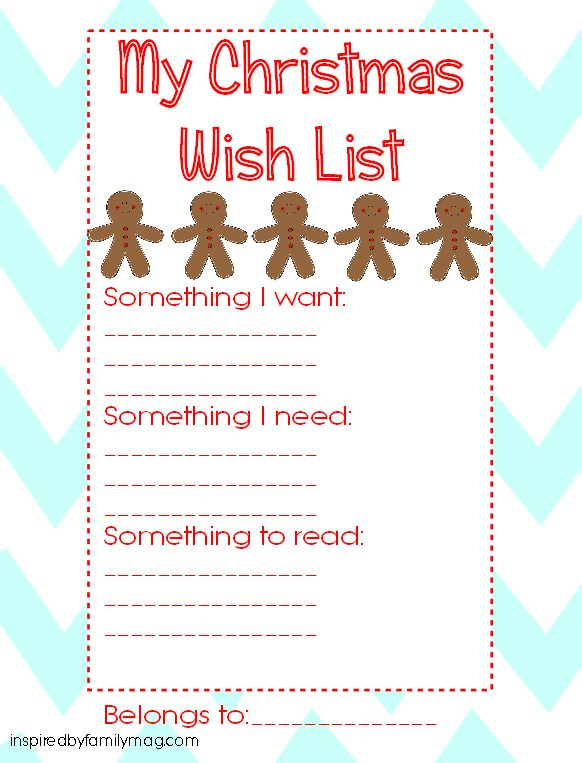 Best 25+ Christmas list printable ideas on Pinterest Christmas - Christmas Wish List Printable