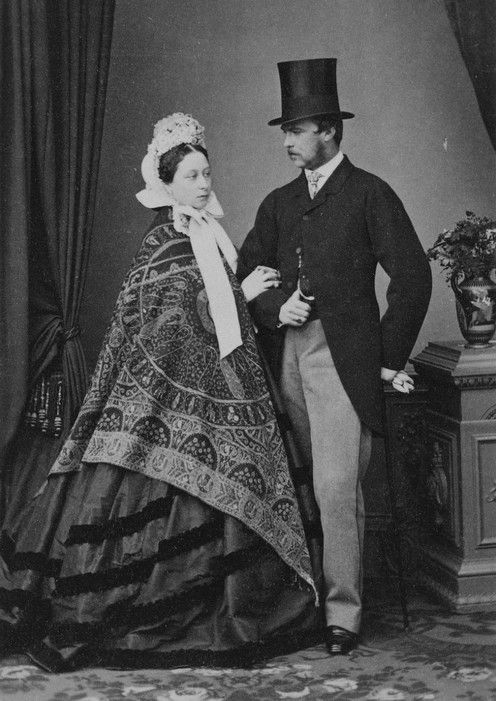 Prince and Princess Louis of Hesse and by Rhine in 1862