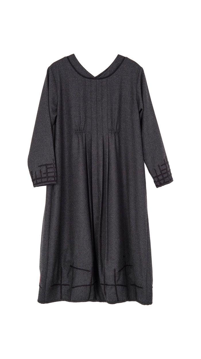 Pleats and gathers. Dresses : Dress Oriental Garden