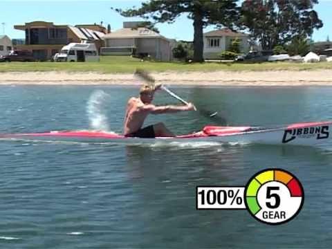 Surf Coach Ski paddling