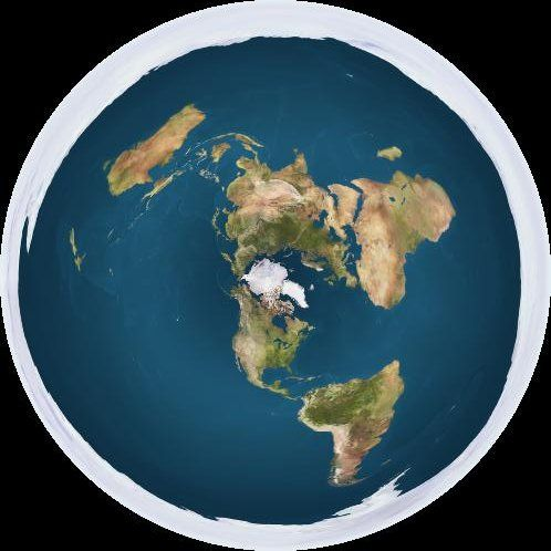 12 best EARTH images on Pinterest Flat earth, Flat earth proof and - copy flat world survival map download