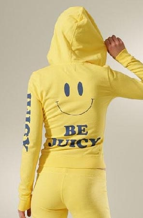 """Be Juicy"" Juicy Couture track suit 