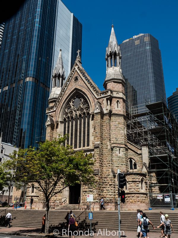 St, Stephen Cathedral is the oldest in Queensland, Australia