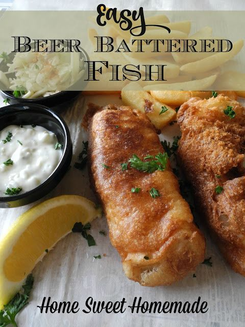 Easy beer battered fish homemade recipes pinterest for Bisquick fish batter