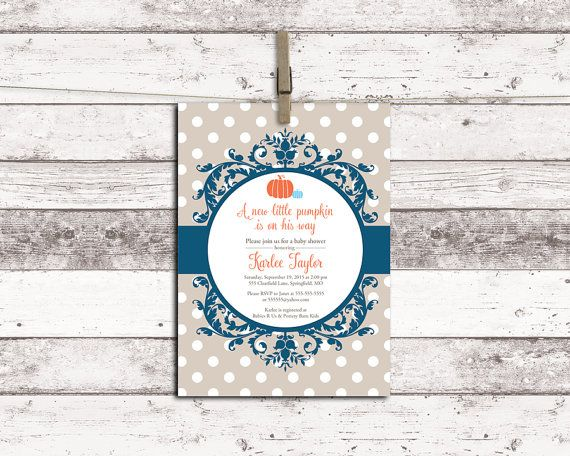 Fall baby shower themes for boys Fall baby by willowlaneinvites