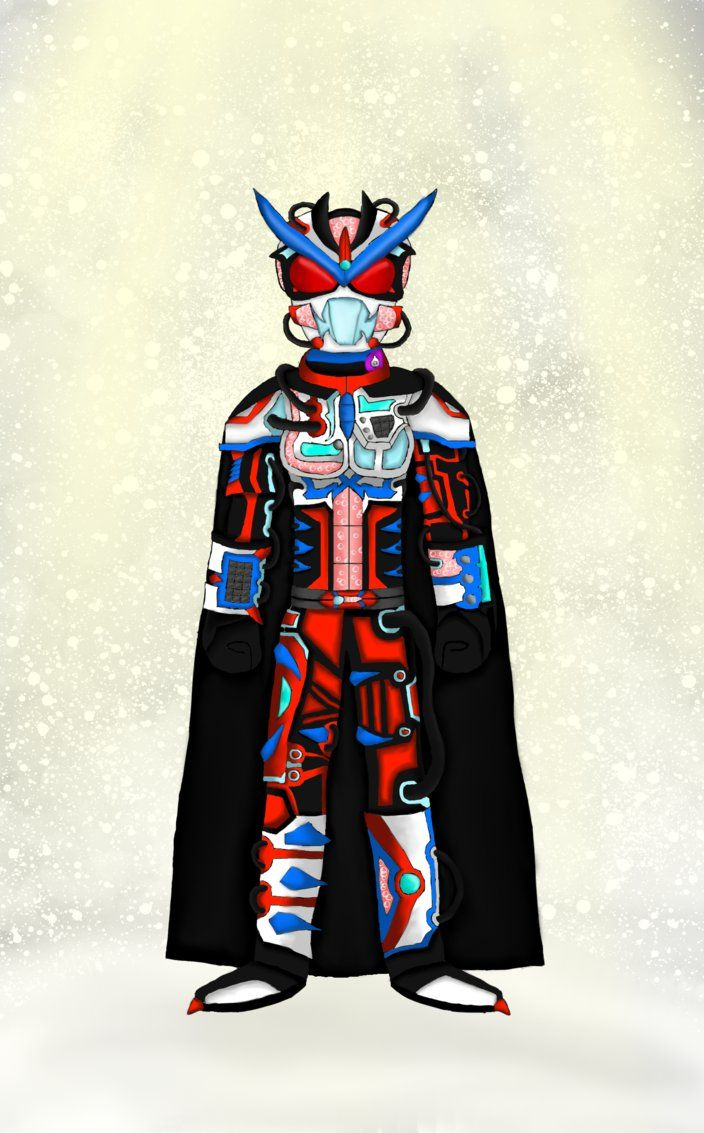 Here is a Kamen Rider I created called Kamen Rider Frostbite.
