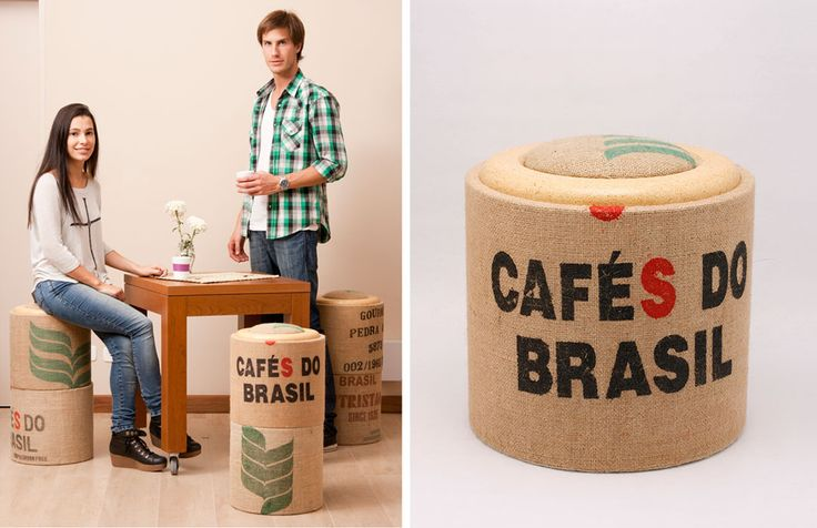 POMADA Mobiliario ecológico, de uso cotidiano, realizados a partir de descartes de la industria papelera. http://charliechoices.com/pomada/