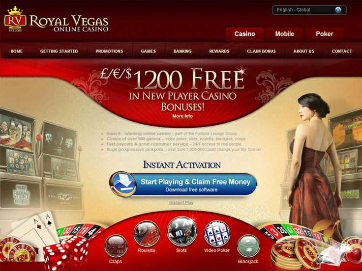 Play at Royal Vegas Online Casino, latest games! #casino #online entertainment #Royal Vegas Casino