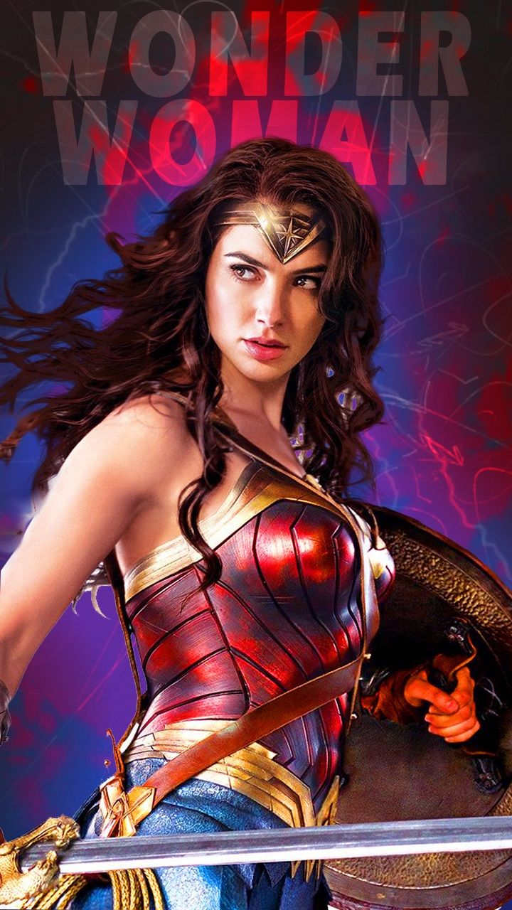 Wonder Woman Mobile Wallpaper Gal Gadot Wanita Seni