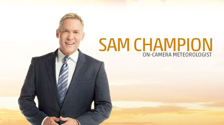 Connect with Sam Champion, Weather Expert and host of AMHQ on The Weather Channel.