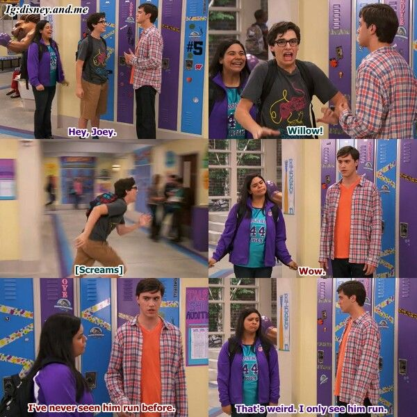 Disney Channel Liv and Maddie. Joey Rooney, Diggie and Willow. Joey Bragg and Ryan Mccartan.