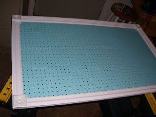 Pegboard how to for my craft room