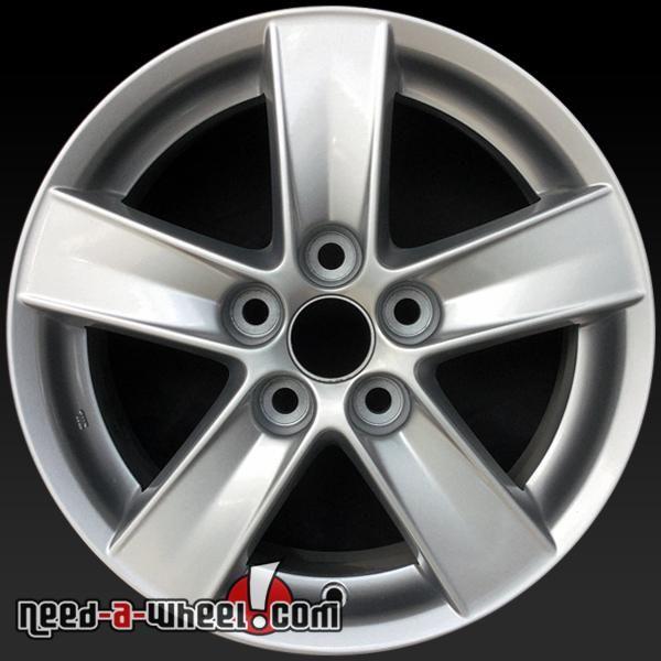 "2008 Mitsubishi Lancer oem wheels for sale. 16"" Silver stock rims 65844 https://www.need-a-wheel.com/rim-shop/16-mitsubishi-lancer-oem-wheels-rims-silver-65844/, , #oemwheels, #factorywheels"