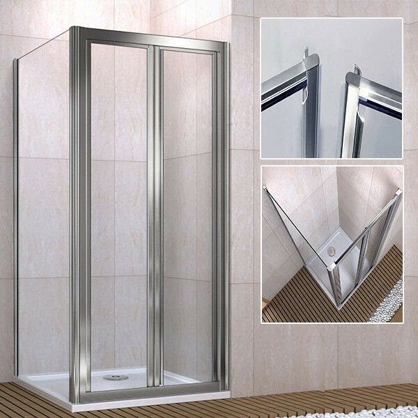 Double Pivot Shower Door In 2020 Shower Cubicles Shower Doors Double Shower