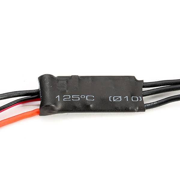 FVT SKYI006 2S 6A Brushless ESC With BEC 5V/0.8A Linear Regulator Mode      Description: Brand Name: FVT Item Name: Brushless ESC Item NO.: SKYI006 Output: Continuous 6A, Burst 8A (10s) Input Voltage: 2s Lipo or 5~6s Ni-Cd/Mh BEC output: 5V/0.8A (LinearRegulatorMode) Max Speed:...