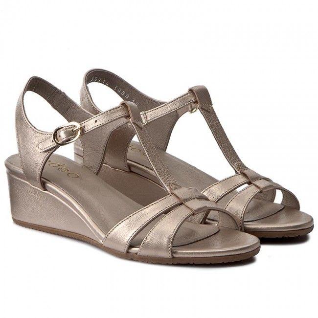 Sandály EDEO - 3088-811 Złoto