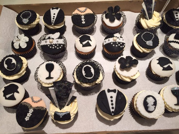 Great Gatsby Cupcakes Graduation Wedding Cakes With