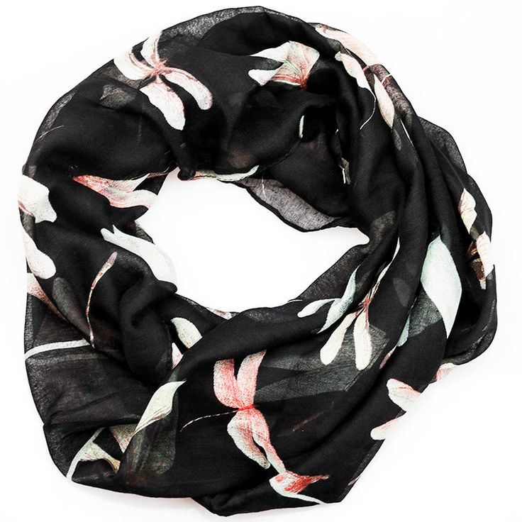 $11.99, Black Dragonfly Inifinity Scarf, women for her fashion accessoires teen gift idea holiday travel loop circle by URFashionista.com on Etsy