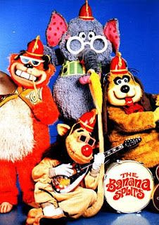 THE BANANA SPLITS - Like most 60s/70s bubblegum artists, the Banana Splits starred in a Saturday morning children's TV show.