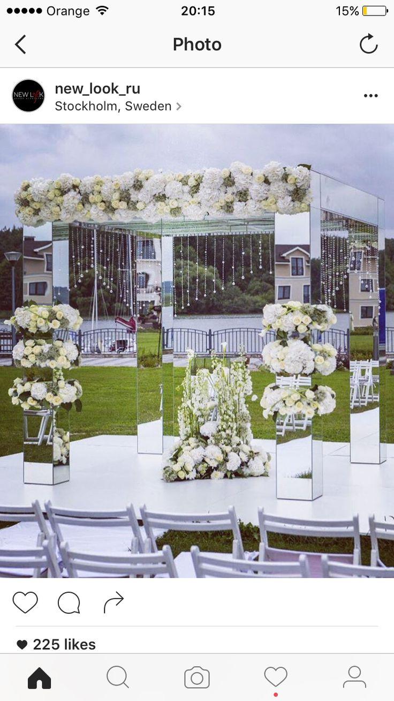 Wedding entry decoration ideas   best Crescent Flowers images on Pinterest  Wedding ideas