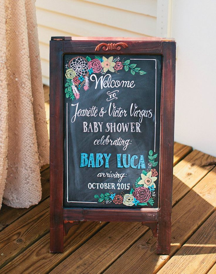Gorgeous Boho Chic Baby Shower (with A Hint Of Glam