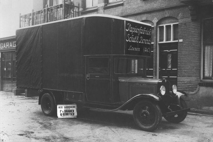 vrachtwagen Schut en Berends