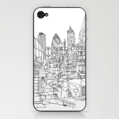 London! iPhone & iPod Skin by David Bushell: Ipod Skin, Iphone Skin To, Imaginary Iphone, London Iphone, Products Avail, Iphone Skinto, Buy London, Quality Iphone, David Bushel
