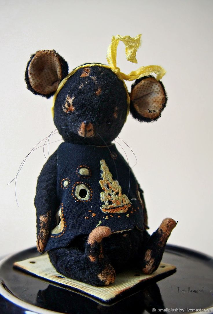 Teddy Mouse on Livemaster online shop